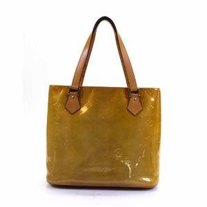 Louis Vuitton Vernis Houston Tote Handbag Grey